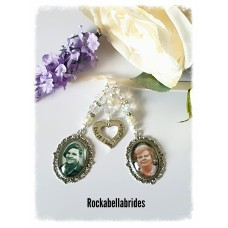 Brides bouquet charm until i see you again
